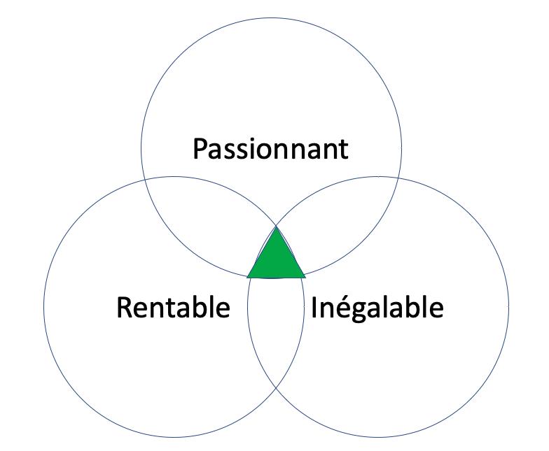 concept du hérisson, la matrice